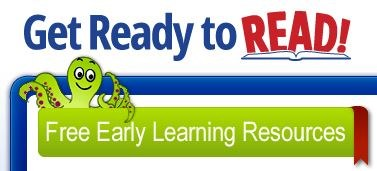 Logo for get ready to read website