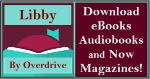 Button to go to libby for ebooks, audiobooks and magazines