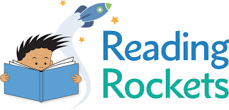 Logo for reading rockets